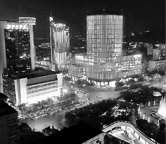 武林广场实景图