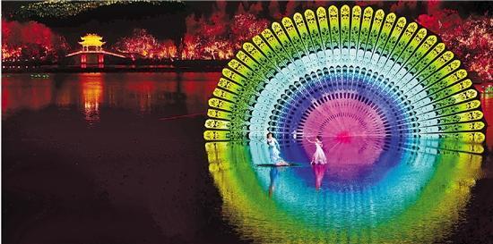 杭州 西湖 《最忆是杭州》实景演出.