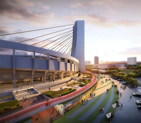杭州市中心要建一条空中跑道 一波高颜值新打卡点来了