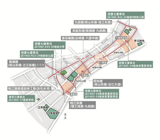 杭州錢江新城二期最新動向 錢塘江邊新增多個地標