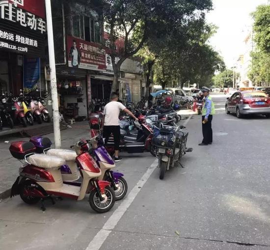 交警部分将开展犯科占用民众停车泊位行为整治动作