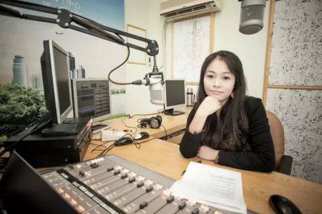 欣婷在曾经的电台节目中
