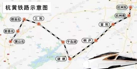 杭黄铁路9月1日开始送电