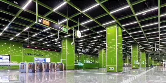 图为宁波地铁站 宁波轨道交通运营分公司供图