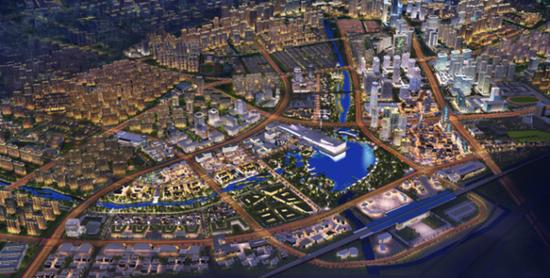 杭州余杭区城市照明规划编制完成 看看未来有什么变化