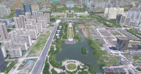 三维虚拟城市效果图