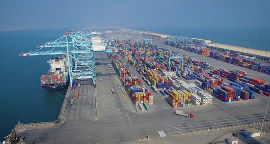 温州市当月出口额为158.2亿元,同比增长38%。 鹿城宣传部供图