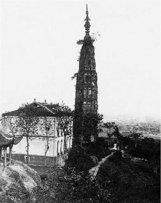1921年的保俶塔