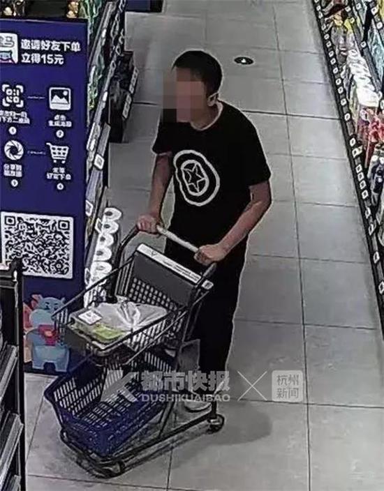 杭州1男子超市偷帝王蟹偷茅台 大胆到拎着袋子就出门