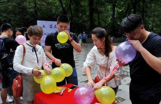七夕节金华山避暑圣地玩起浪漫心跳