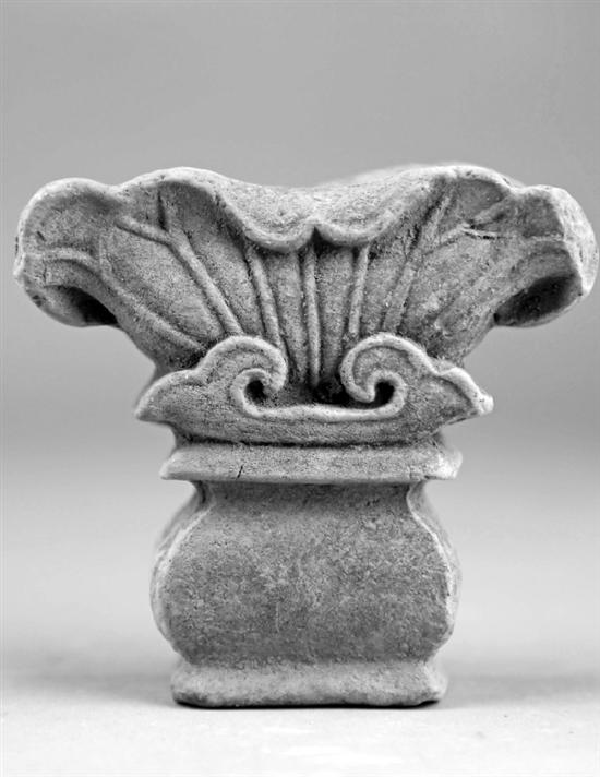 绍兴兰若寺墓地建筑构件。