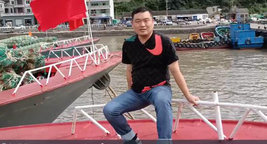 因从小晕船舟山小伙留学日本 不料回来又当上渔老大