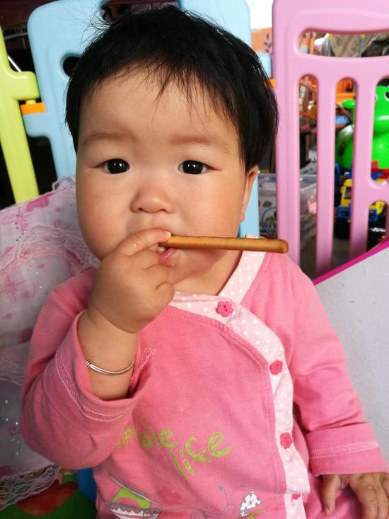 小云熙生前照片。