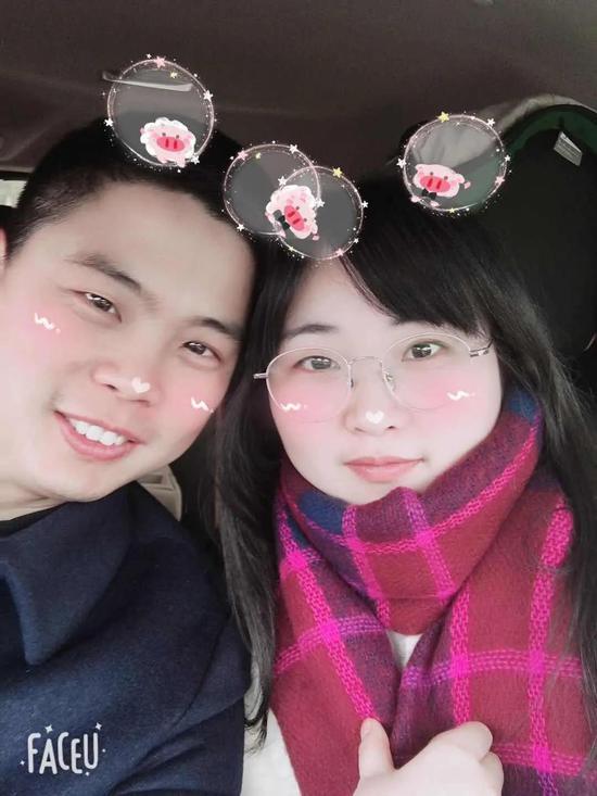 ▍何春波和妻子徐倩