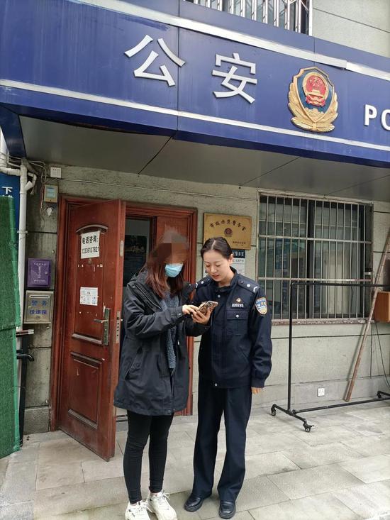 姑娘被骗3万多元 杭州警方看一眼就追回了两万六