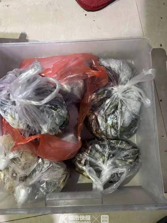 浙江三名男子为准备年货毒鱼 被抓时搜出10多斤鱼干