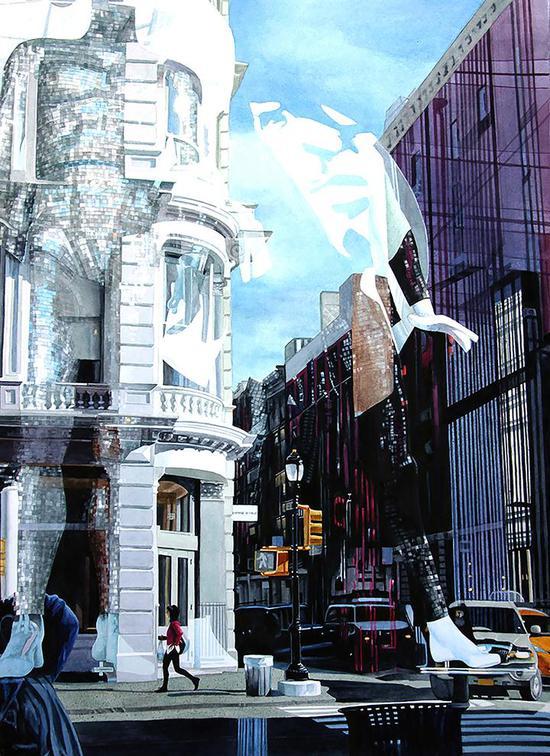 02 银奖Guardians of New York 75x50cm Robin Erickson美国