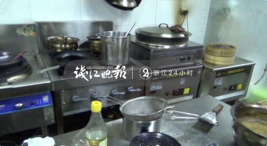 图:事发餐馆厨房