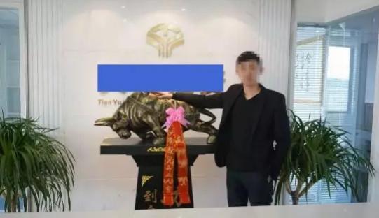 图为:嫌疑人刘某 平湖公安供图