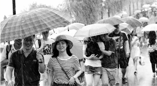 杭州本周有阵雨出没高温暂歇 下周气温比较舒适