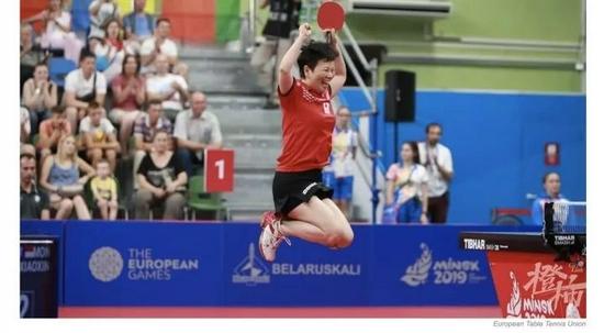 浙江乒乓球手倪夏莲代表卢森堡征战奥运 值得尊敬