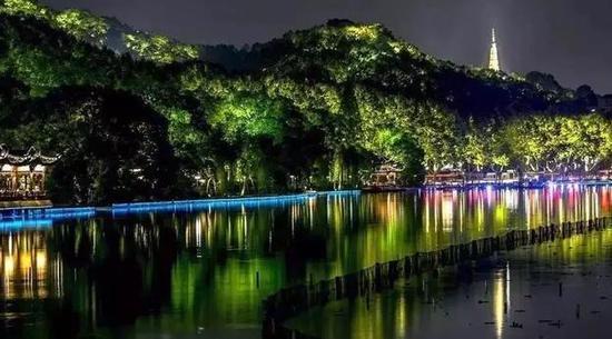中秋小长假杭州各大灯光秀和喷泉最新时间安排表出炉