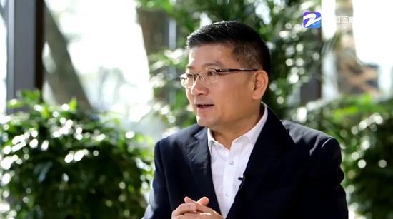 周向军接受浙江广电融媒体新闻中心直播专访