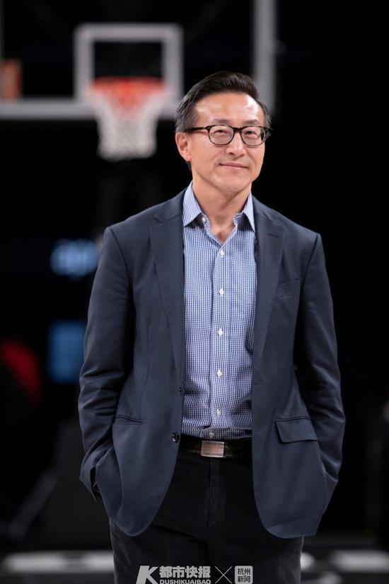 阿里巴巴集团董事局执行副主席布鲁克林篮网队老板蔡崇信