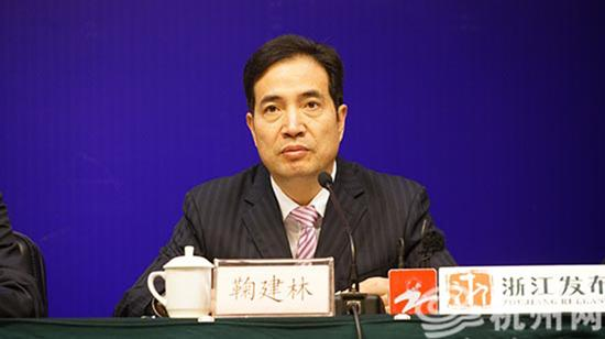 鞠建林 杭州网 资料图