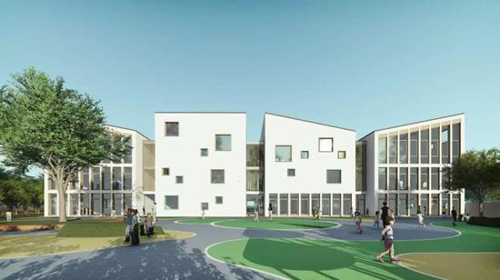 黄岩高桥街道中心幼儿园即将开建图片