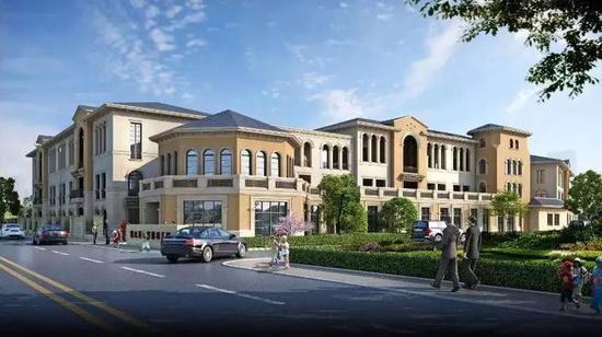 新建18个班,建筑占地面积2944平方米,总建筑面积6985.5平方米。