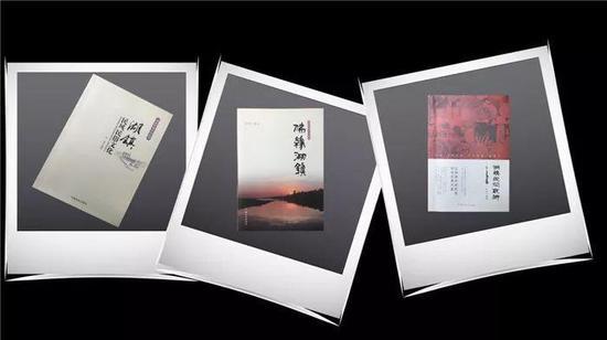   图为张坤记录的三本书籍