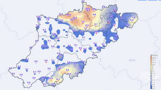杭州的梅雨季还没有完 这个双休日可以暂时凉快一下