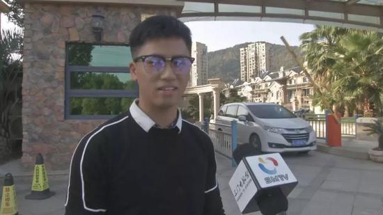 图为:助人为乐的外卖小哥 三门县委宣传部供图