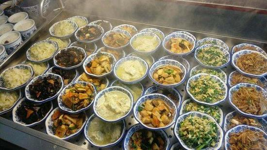 杭州小乐胃老年食堂菜品。