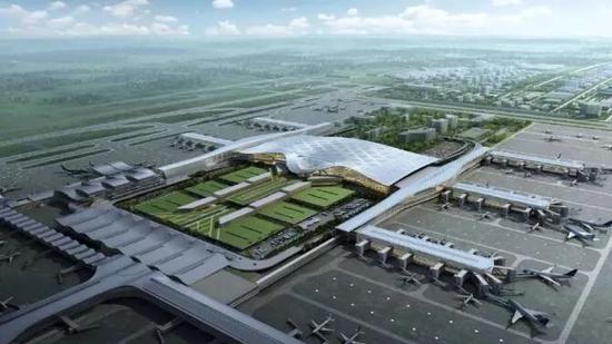 杭州蕭山國際機場,華東第二大航空樞紐