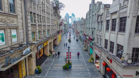 五马街禅街打造省级品质步行街