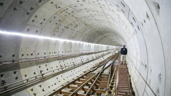 盾构隧洞区间