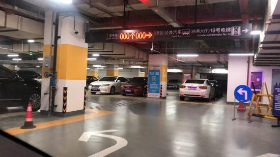 杭州东站西广场地下停车库新变化 最新版停车攻略收好