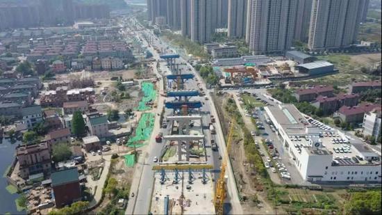 杭州两条快速路有新进展 最快计划于7月底建成通车