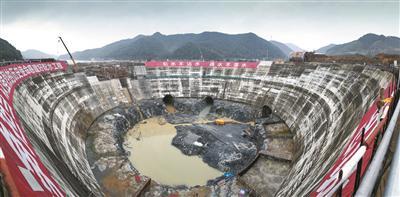 千岛湖引水工程闲林水库配水井