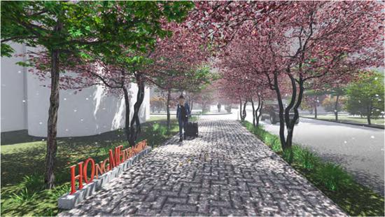 打造一条千米红梅小街 杭州这个社区要变身未来社区