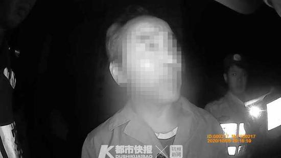 杭州临安一男子酒驾后连用五大法宝 结果仍被拘(图)