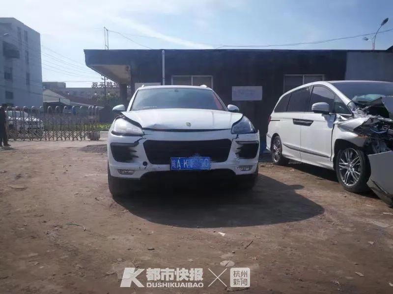 杭甬高速上三车追尾 民警调查后发现有辆车不太对