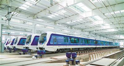 杭海城铁将进入运营筹备阶段 运营综合楼昨日交付