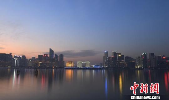 钱塘江沿岸。(资料图) 王刚 摄