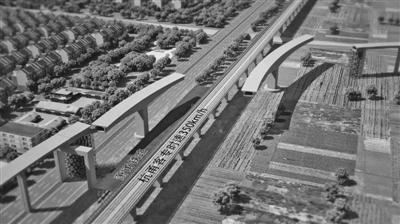 桥体对接示意图