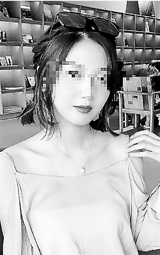 遇害的20岁姑娘小赵。