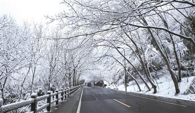 ②杭州雪景