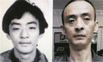 大侠多年前的黑白证件照和近照,隋警官经过仔细研判,发现是同一个人。